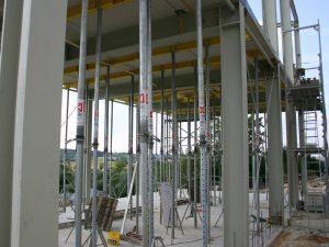Neubau Blockkraftheizwerk (Deckenschalung), HGW Weißenburg
